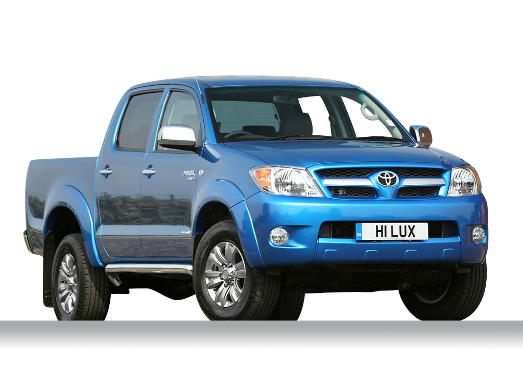 TOYOTA HILUX green
