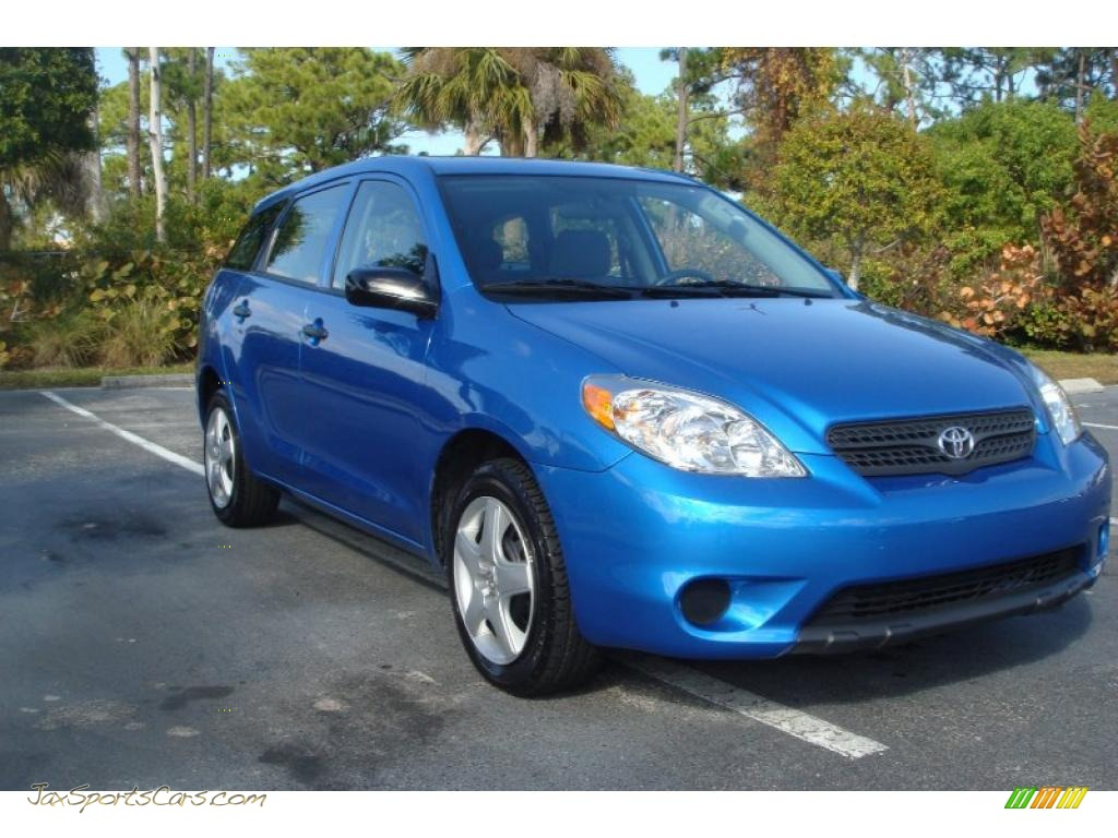 TOYOTA MATRIX blue