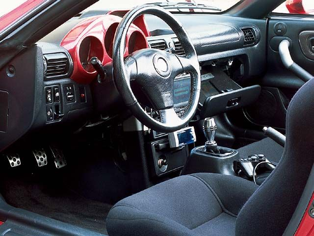 TOYOTA MR-S interior
