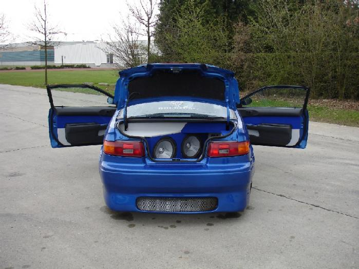 TOYOTA PASEO blue