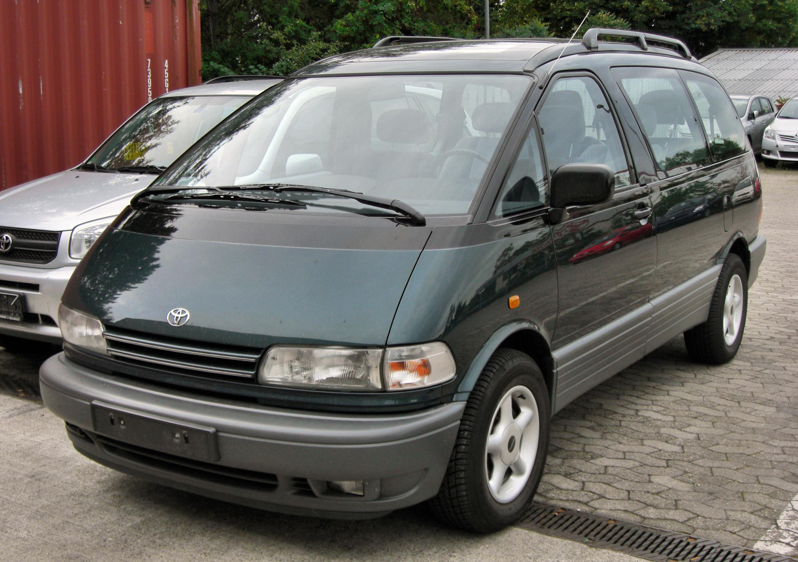 Toyota Previa Review And Photos
