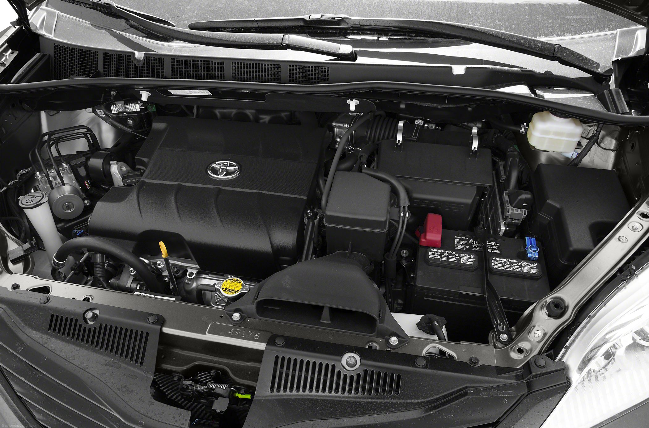 TOYOTA SIENNA I engine