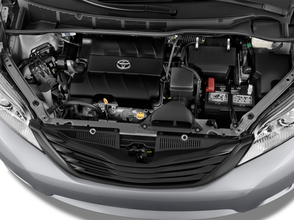 TOYOTA SIENNA engine