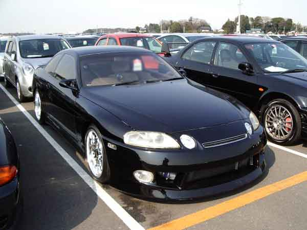 TOYOTA SOARER TURBO blue