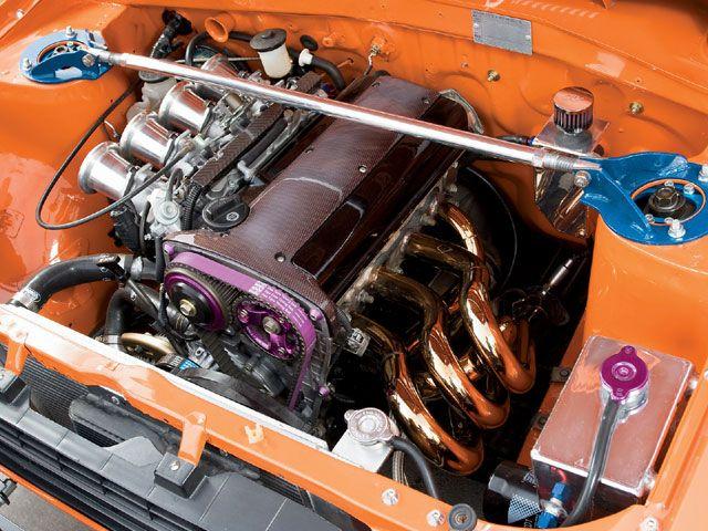 TOYOTA STARLET (KP60) engine