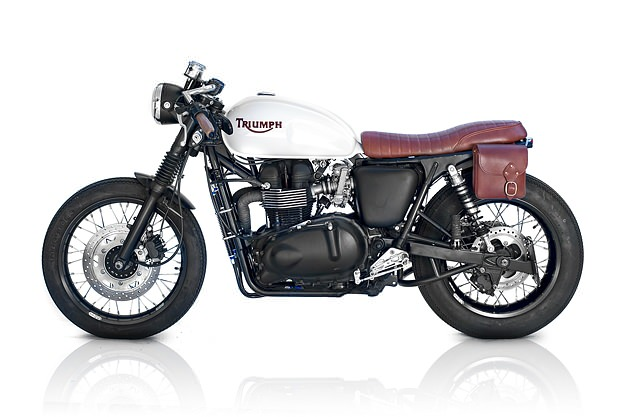TRIUMPH BONNEVILLE AMERICA brown