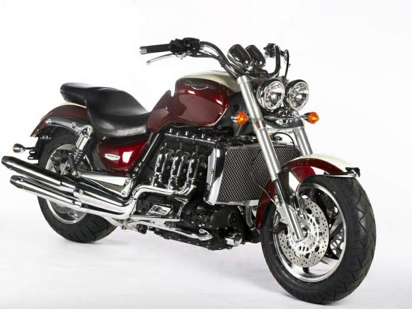 TRIUMPH ROCKET III green