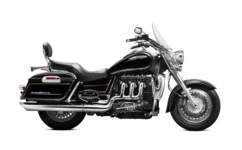 TRIUMPH ROCKET red