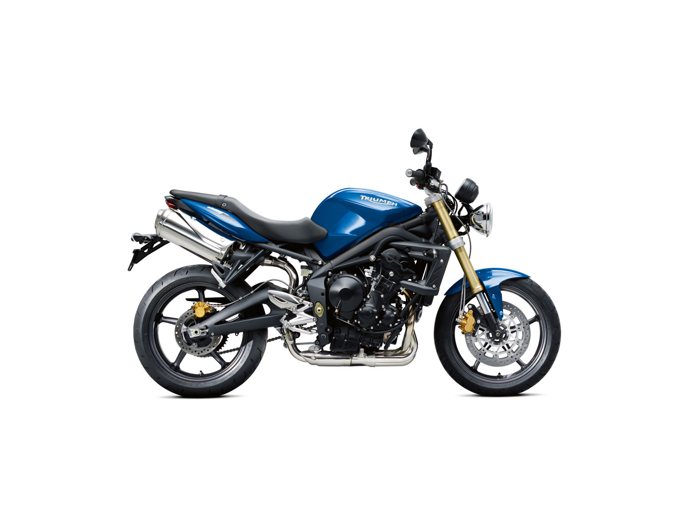 TRIUMPH SPEED TRIPLE blue