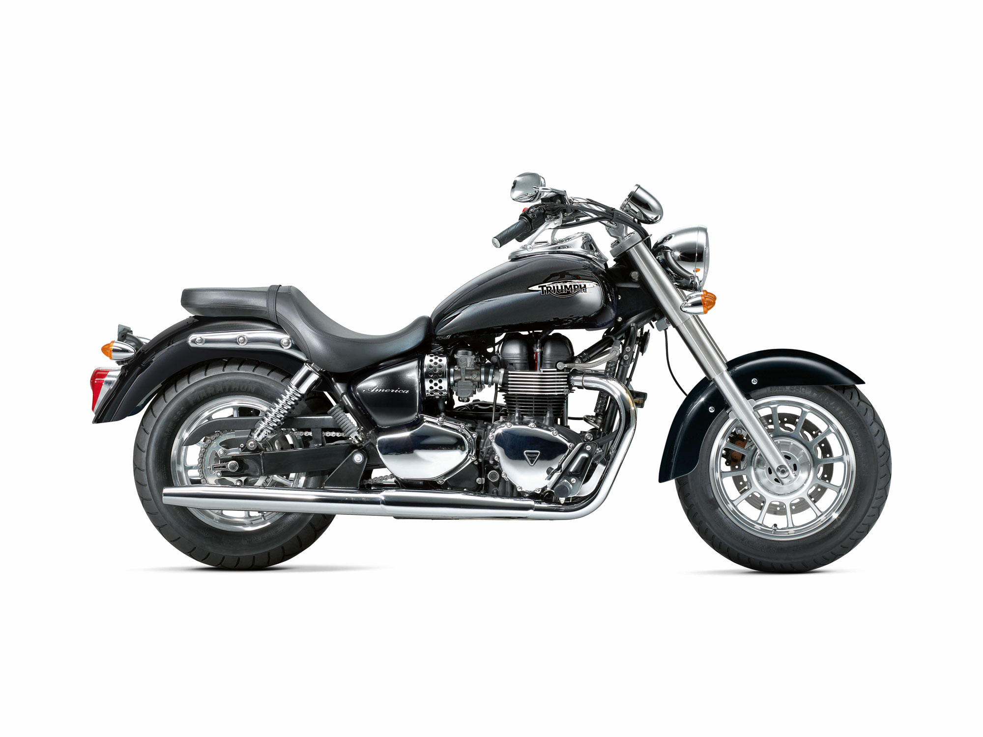 TRIUMPH SPEEDMASTER black