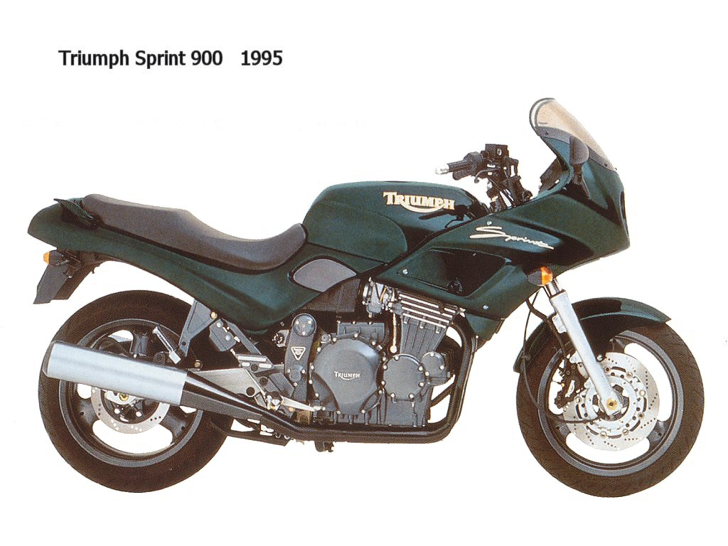 TRIUMPH SPRINT 900 white