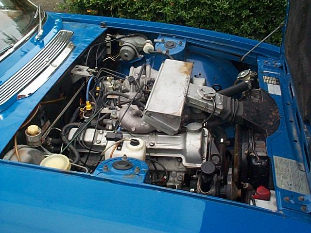 TRIUMPH STAG engine