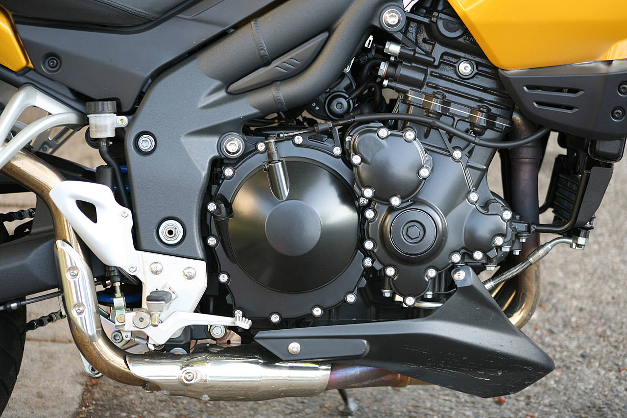 TRIUMPH TIGER 1050 SE engine