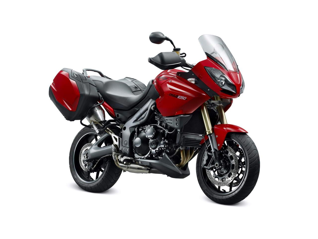 TRIUMPH TIGER 1050 SE red