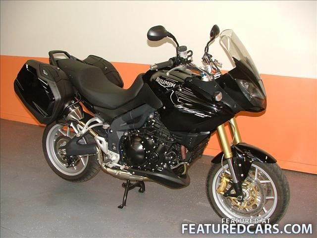 TRIUMPH TIGER 1050 black