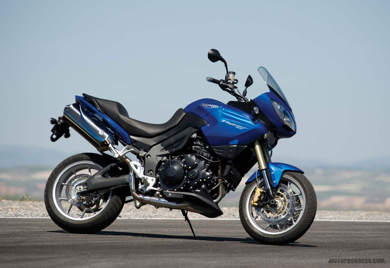 TRIUMPH TIGER 1050 blue
