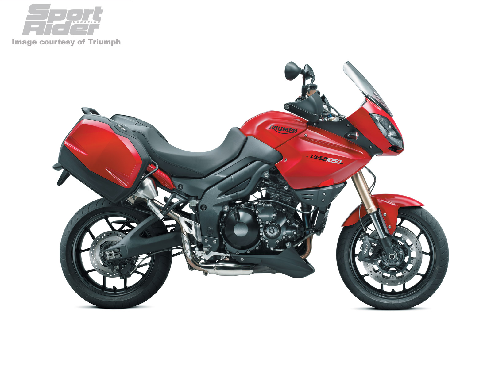 TRIUMPH TIGER 1050 red