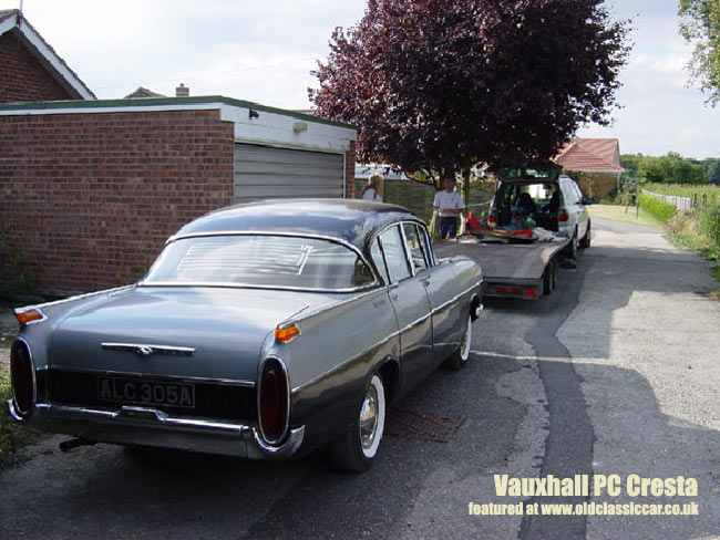 VAUXHALL CRESTA PA red