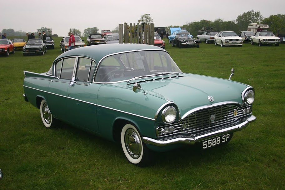 VAUXHALL CRESTA PA silver