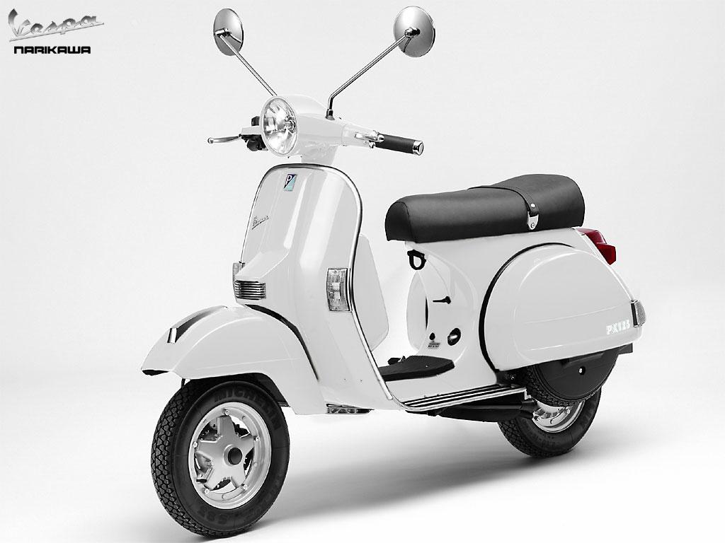 VESPA 125 white