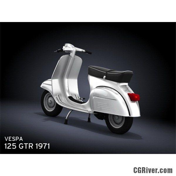 VESPA ET4 125 interior