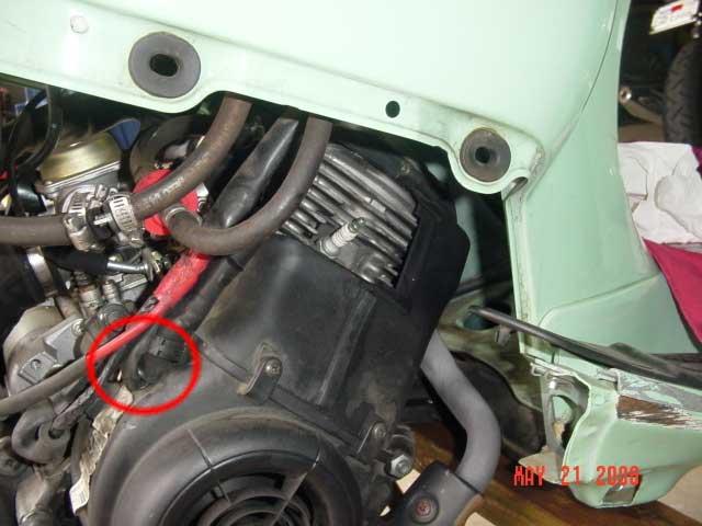 VESPA ET engine