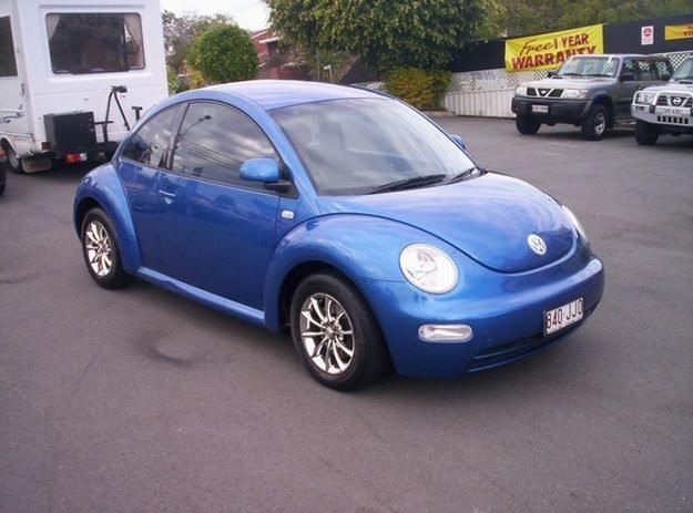 Vw Beetle Blue
