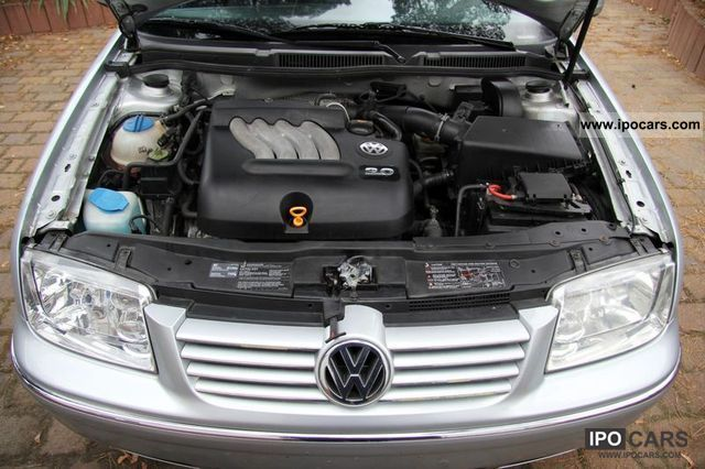 VOLKSWAGEN BORA engine