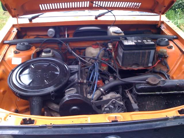VOLKSWAGEN DASHER engine