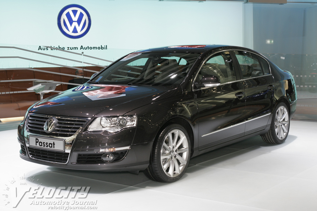 VOLKSWAGEN PASSAT brown