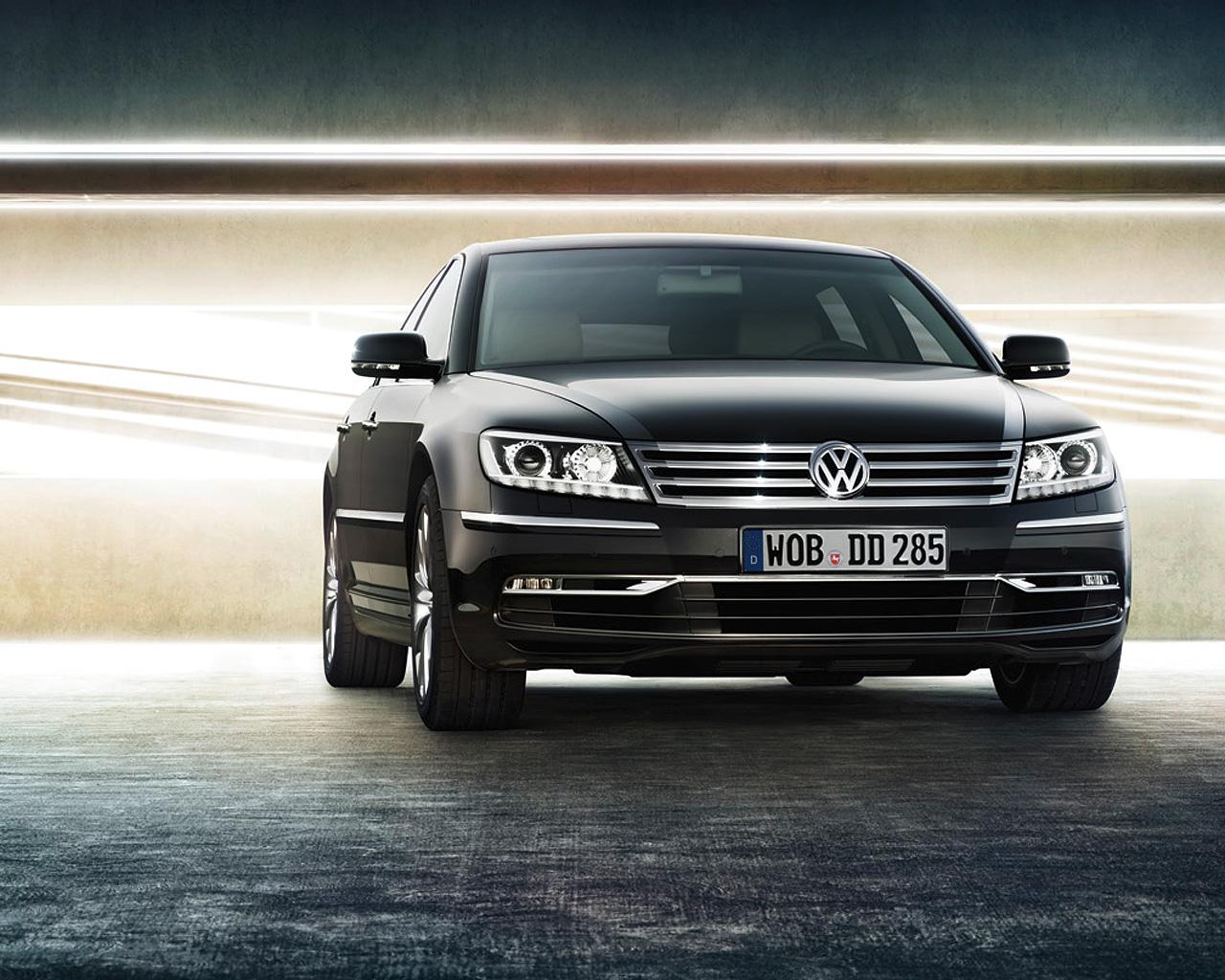 volkswagen wallpaper (Volkswagen Phaeton)