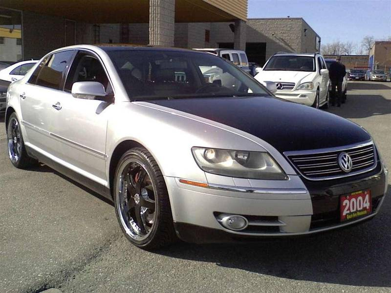 VOLKSWAGEN PHAETON brown