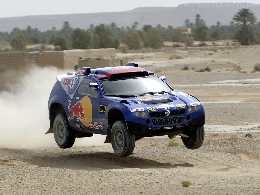 VOLKSWAGEN RACE TOUAREG engine