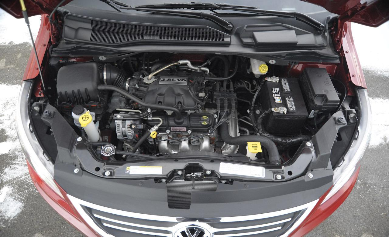 VOLKSWAGEN ROUTAN SE engine