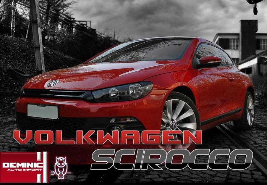 VOLKSWAGEN SCIROCCO 1.4 red