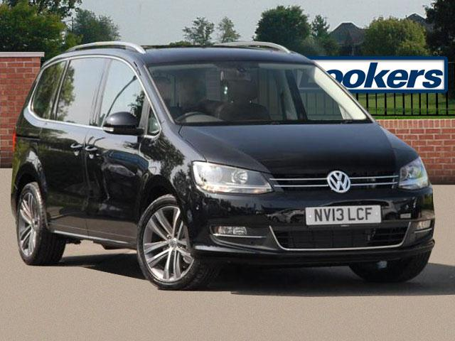 VOLKSWAGEN SHARAN 2.0 TDI green