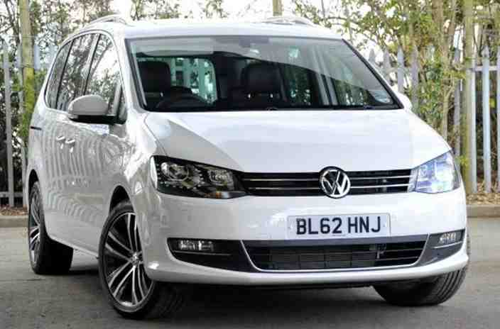 VOLKSWAGEN SHARAN white
