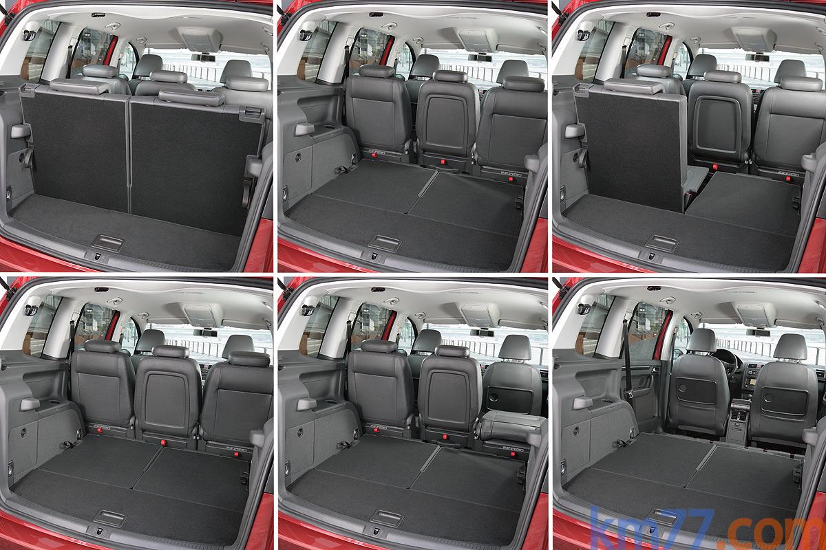 Volkswagen touran review and photos for Interior touran