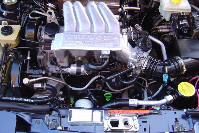 VOLVO 480 engine