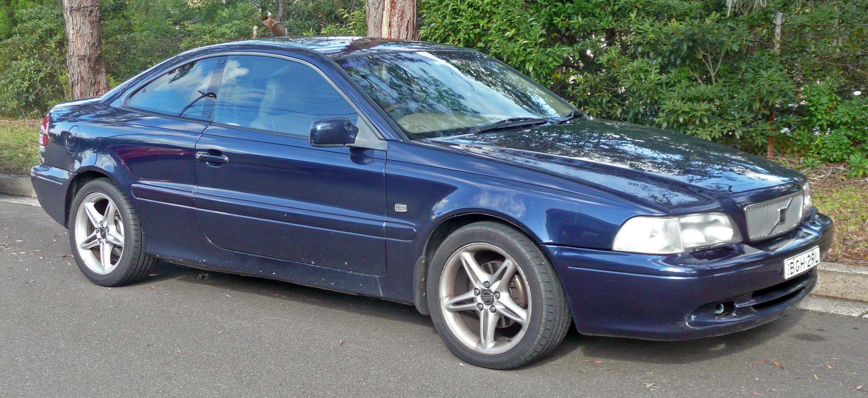 VOLVO C70 blue