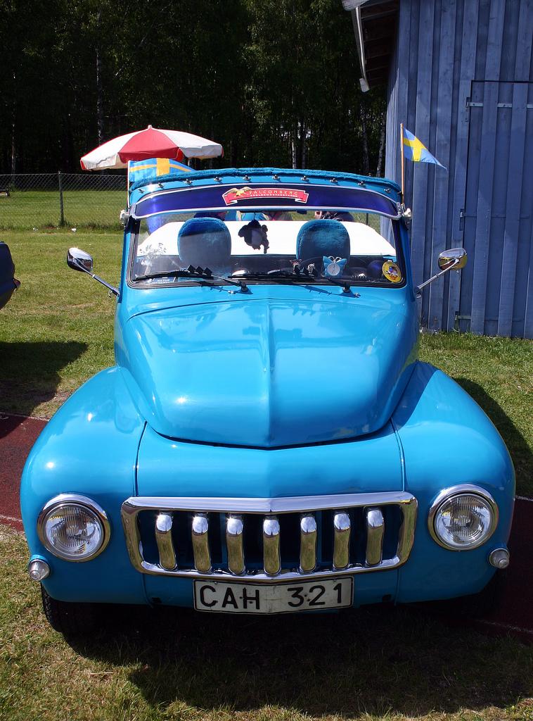 VOLVO DUETT blue