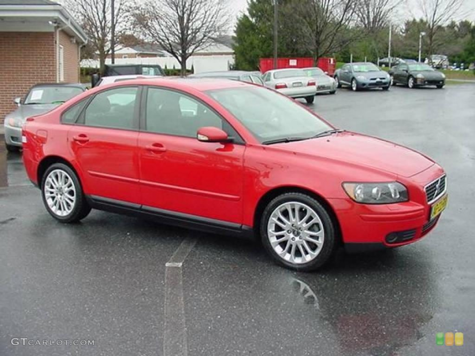 Volvo S40 2004 Red