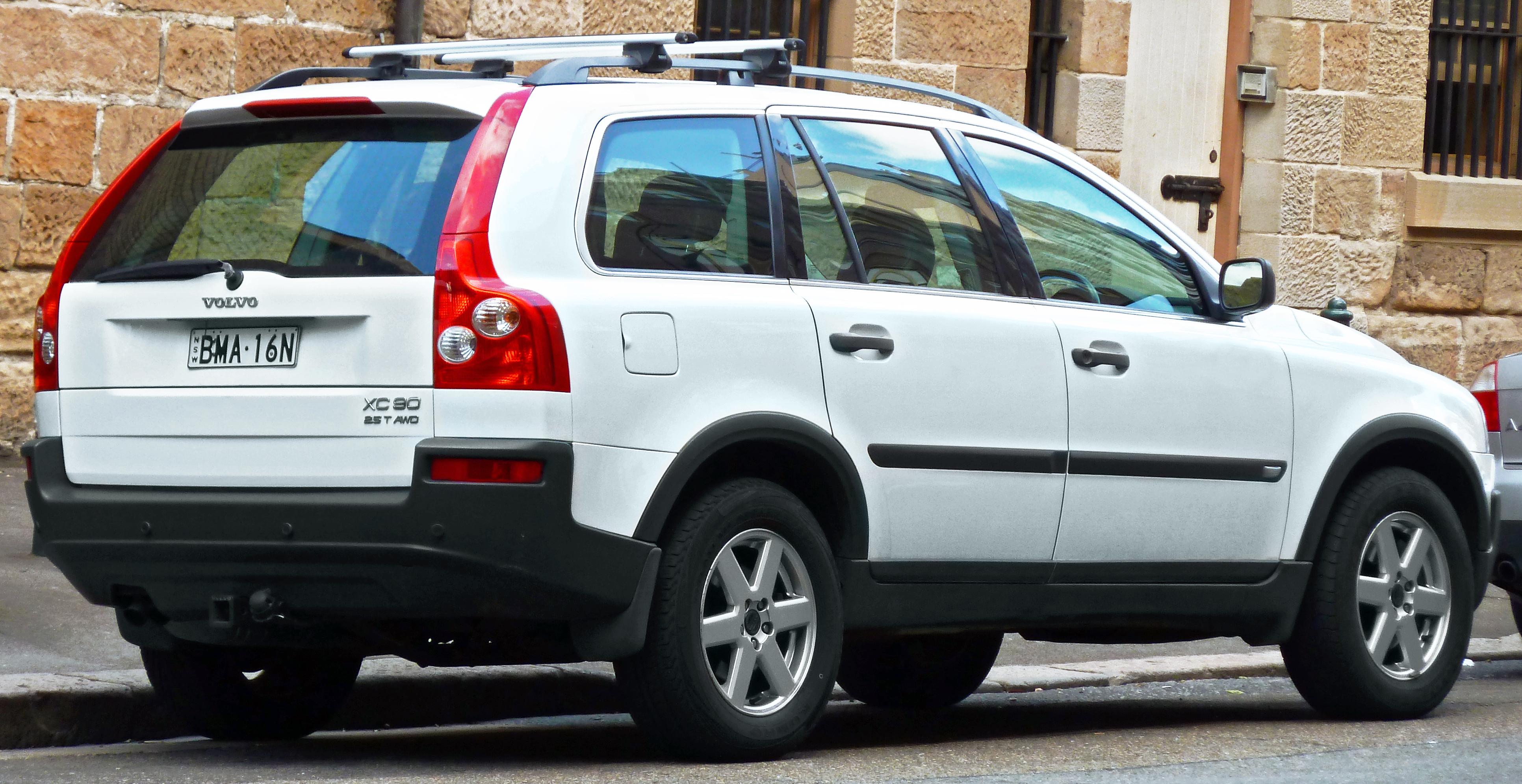 Volvo xc90 white