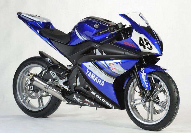 YAMAHA 125 YZF-R blue