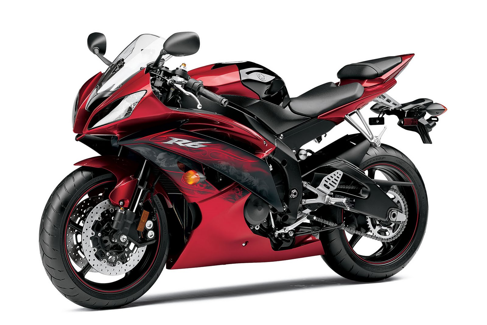 YAMAHA 125 YZF-R red