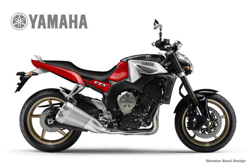 YAMAHA 750 FZX white