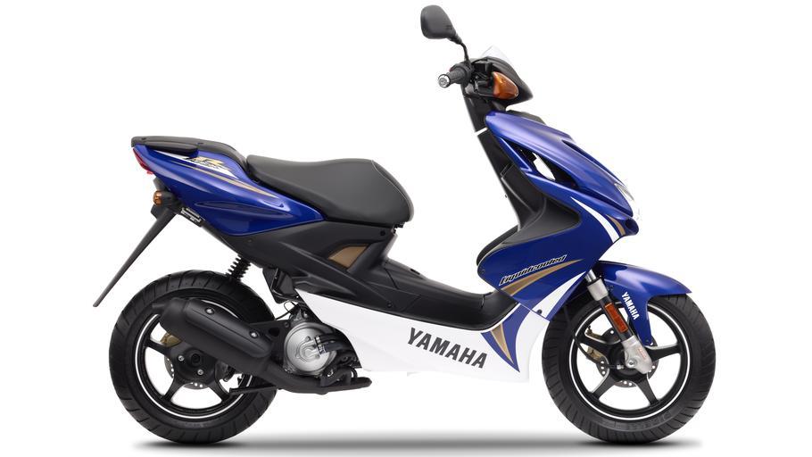 YAMAHA AEROX 50 blue