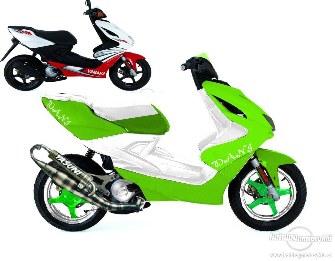 YAMAHA AEROX 50 green