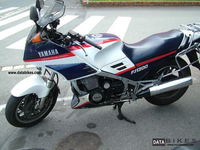 YAMAHA FJ 1200 brown