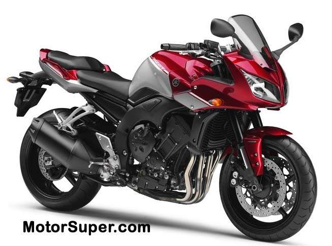 YAMAHA FZ1 ABS red